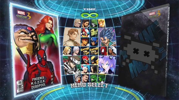 Marvel vs. Quest vs. Enix vs. Konami vs. Sega vs. Capcom