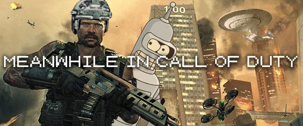 Leaked Black Ops II screenshot