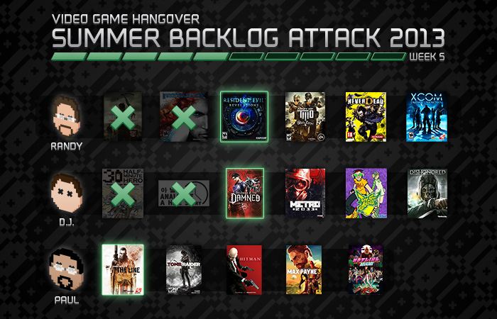 Summer Backlog Attack Week 5