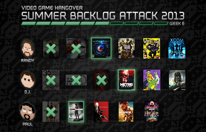 Summer Backlog Attack Week 6