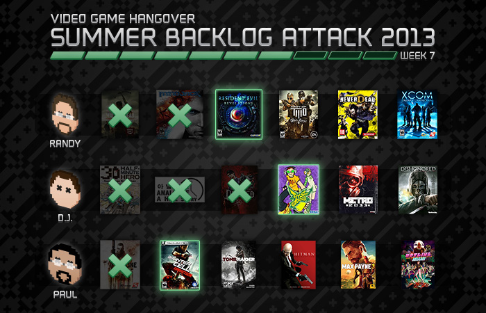 Summer Backlog Attack: Week 7