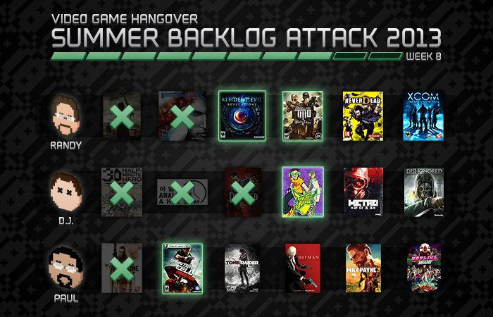 Summer Backlog Attack: Week 8