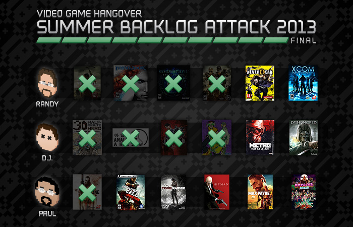 Summer Backlog Attack 2013