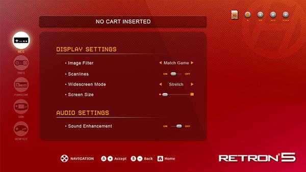 RetroN 5 UI