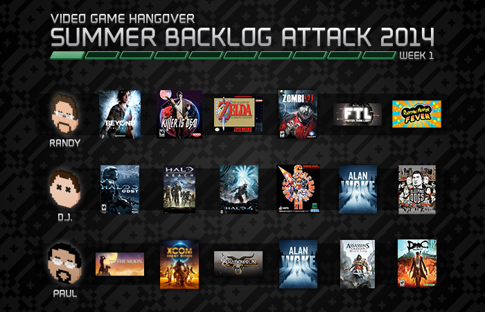 Backlog Attack 2014 Week 1