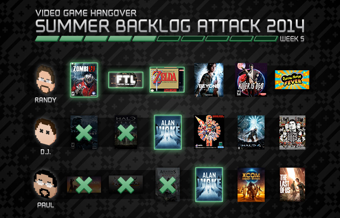 Summer Backlog Attack, Week 5