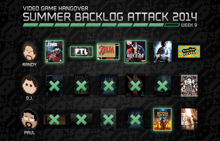 Summer Backlog Attack, Week 9