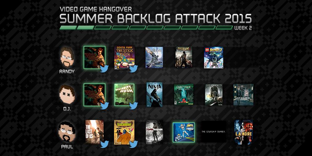 Backlog Attack 2015: Week 2